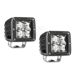 Rigid Industries D-serie Spot LED, 1568 lumen, 447 meter, par