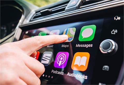 Apple CarPlay-spiller